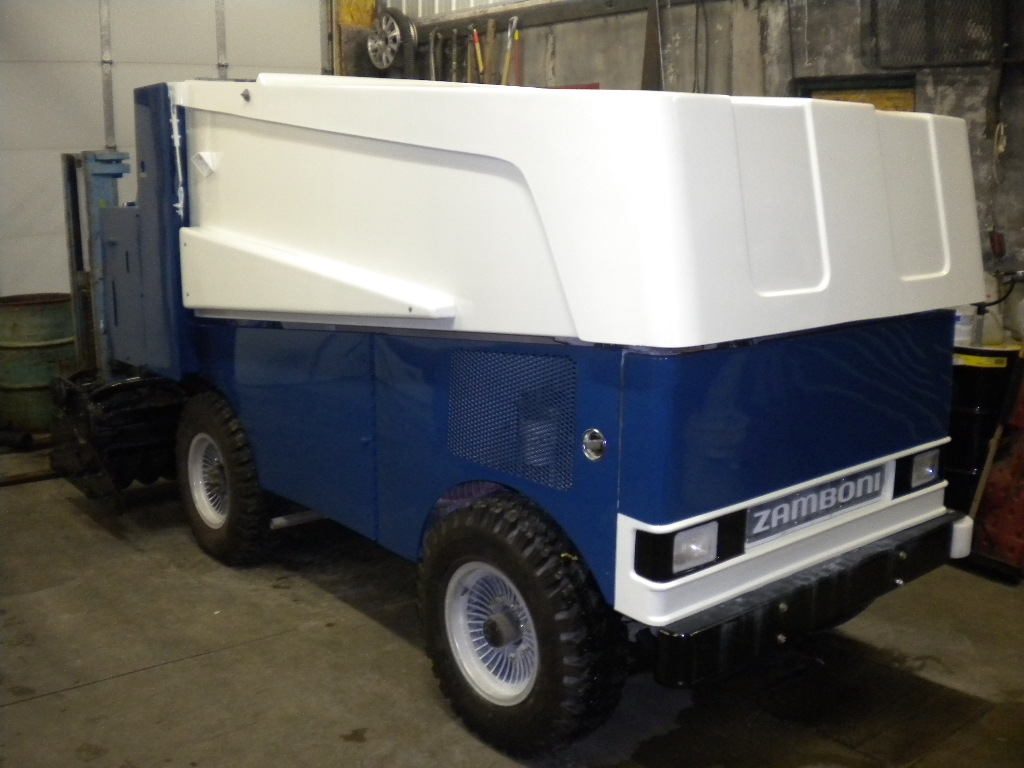 Zamboni pic 1 mid south ice house memphis and the mid for Home zamboni