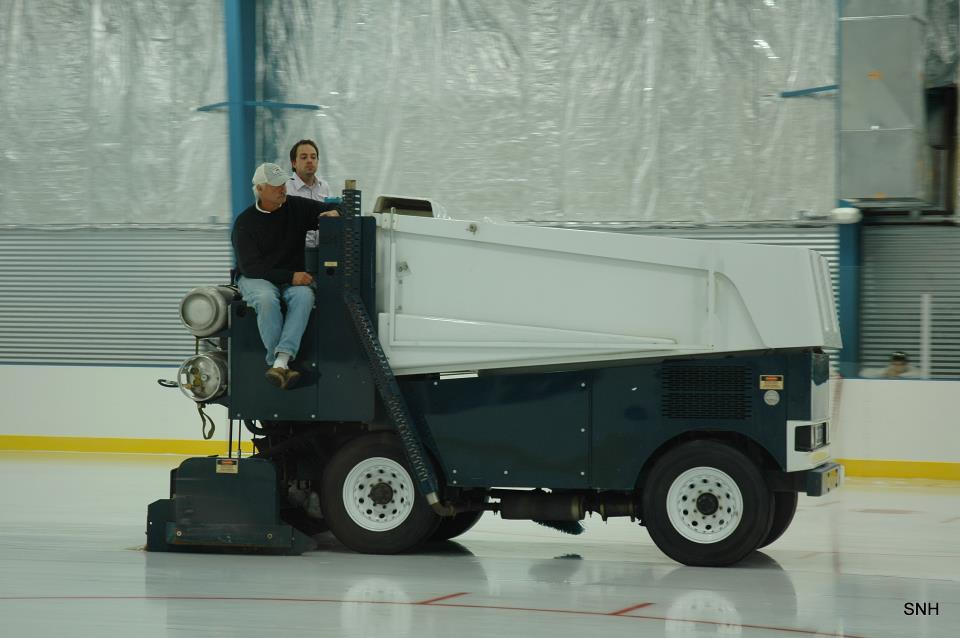 Zamboni ride mid south ice house memphis and the mid for Home zamboni